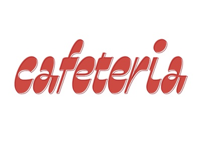 Cafeteria letterworks customtype wordmark graphic design calligraphy branding brush design font type letters logo typography typeface cafeteria lettering