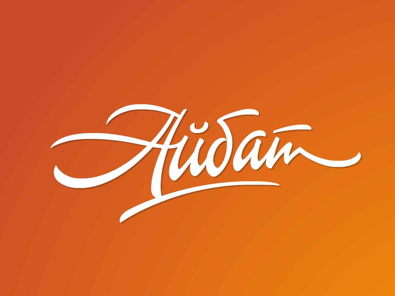 "[Aibat] it means ""Good"" in Bashkir letterworks customtype wordmark graphic design logotype calligraphy brush branding design script font cyrillic type letters logo typeface typography lettering"