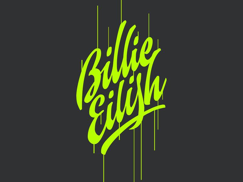 Billie Eilish By Sergei Godovalov On Dribbble