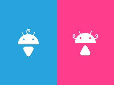 Android Toilet Signs android robot toilet sign baby boy girl icon