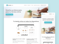 Nuvem Shop's platform pages