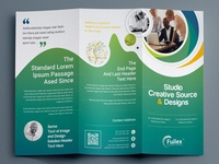 Professional Tri Fold Brochure Template