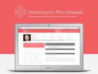 Rehabilitation Plan Schedule