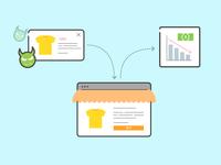E-Commerce App Tampering - Illustration