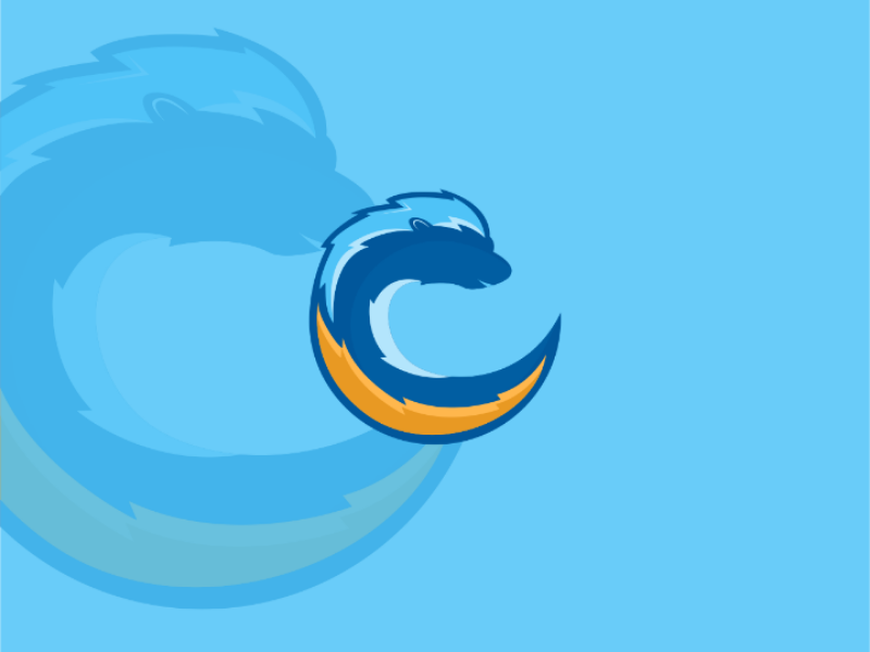 Logo Design animal blue product branding design logo
