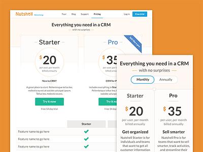 Nutshell Web Design nutshell crm pricing