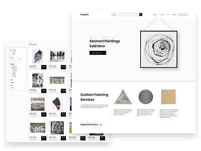 ProjectX minimal art ui ui ux app sketch cyphersociety branding web website graphic  design landing page modern design ux