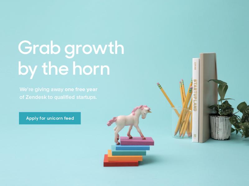Zendesk for Startups startup zendesk unicorn