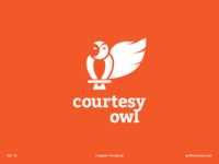 Daily Logo 01 - Courtesy Owl