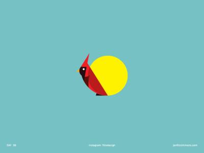 Daily Logo 06 - Cardinal