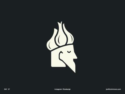 Daily Logo 07 - Garlic King