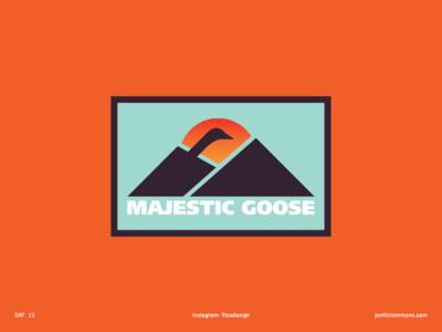 Daily Logo 13 - Majestic Goose