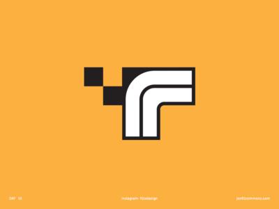 Daily Logo 15 - Taxi Terminal