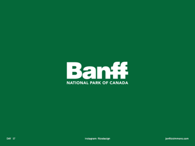 Daily Logo 17 - Banff National Park