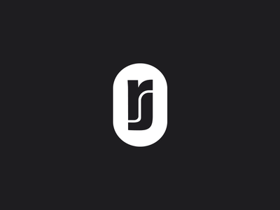 RJ Monogram j r monogram logo identity branding