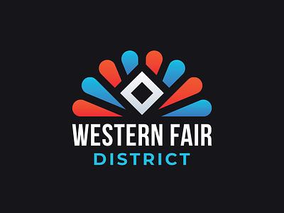Western Fair District ontario london district western fair logotype mark identity branding logo