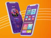 Zing MP3 Music App UI