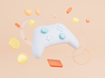 Blender 3D - Gamepad game gamepad blender3d blender b3d
