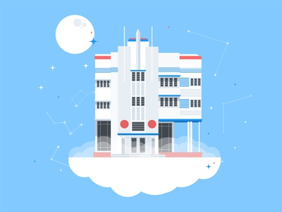 Astro Inn vector illustrations flat design digital art digital illustration illustration graphic design illustration art flat illustration adobe illustrator