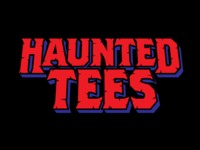 Haunted Tees branding