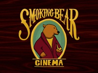 Smoking Bear Cinema Branding