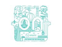 Elastic{ON} 17 t-shirt