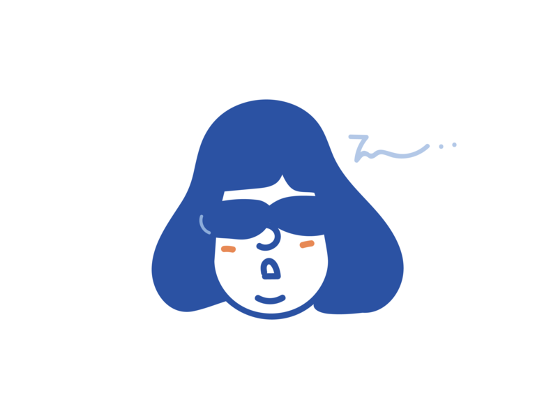 A nap doodleaday doodle illustration