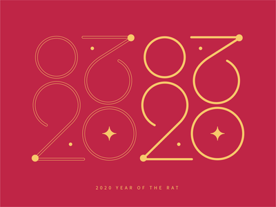 2020 Year of the Rat - 福