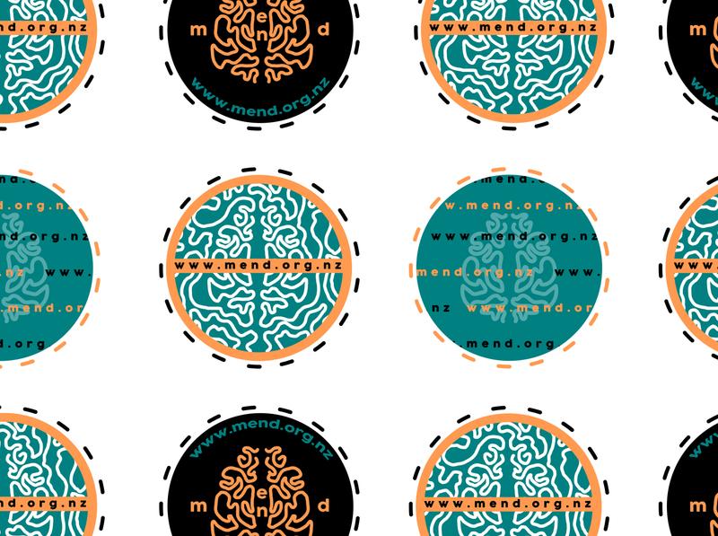 Mend Stickers Set #1