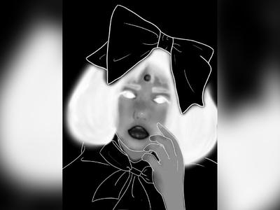 illustrate-cool girl