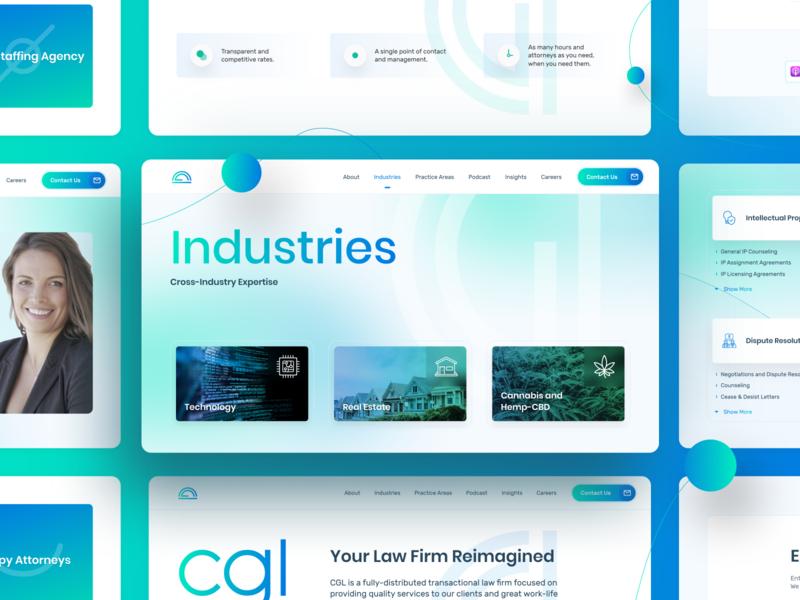 CGL - Website Design