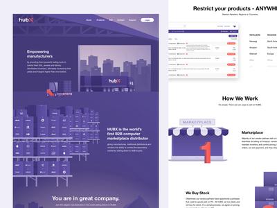 HubX page concept
