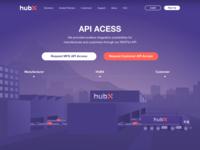 HubX API Acess Page