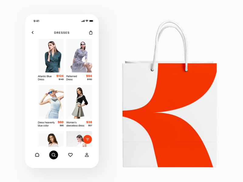 Search Screen Concept for ROPA flat character clean mobile icon ios website app web lettering ux ui logo design application illustration typography brand branding design design branding