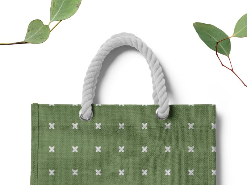 Trendy Bag Design logo design flat packaging bag pattern design pattern art patterns lettering logo brand branding design design branding
