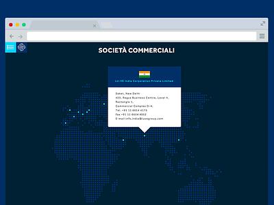 Map mockup map mockup web design ui ux interface website dark tooltip