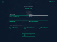 Daily UI #001: Sign Up