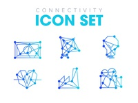 Connectivity icon set