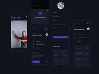 Online Class Learning App uidesign figma figmadesign adobexd vector illustration design ui interaction design app  design ux design ui design graphic  design photoshop