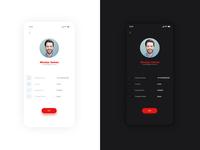 Profile UI | Light and Dark Theme