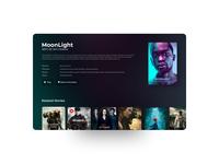 Apple TV Movie Detail UI