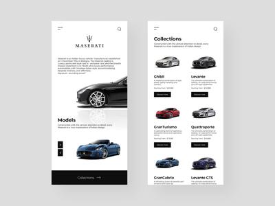 Maserati Store Concept
