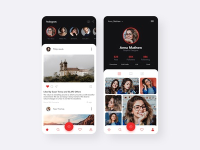 Instagram New Design Concept