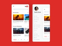 Youtube App Concept Design