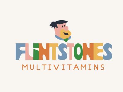 Flintstones Logo Concept