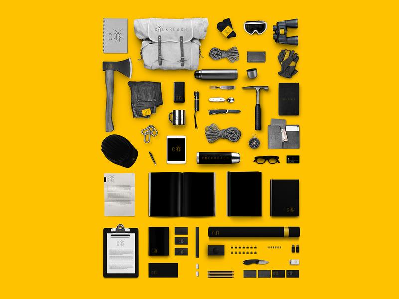 COCKROACH | Branding Stationery
