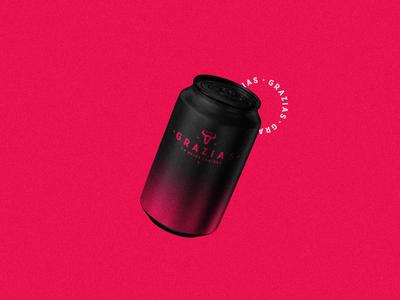 GRAZIAS flat logofolio illustration brand identity logo branding graphic design concept art modern minimal