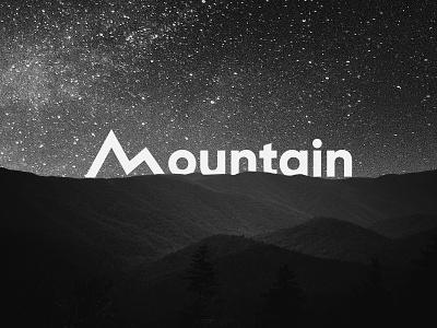 Mountain flat logofolio brand identity design illustration logo graphic design branding concept art modern minimal