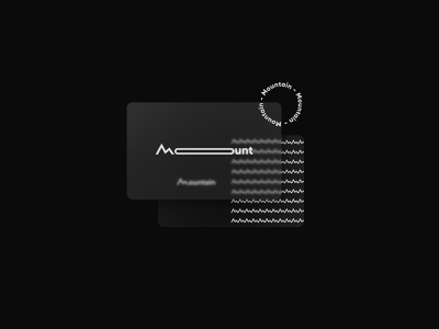 Mountain design flat logofolio brand identity illustration logo graphic design branding concept art modern minimal