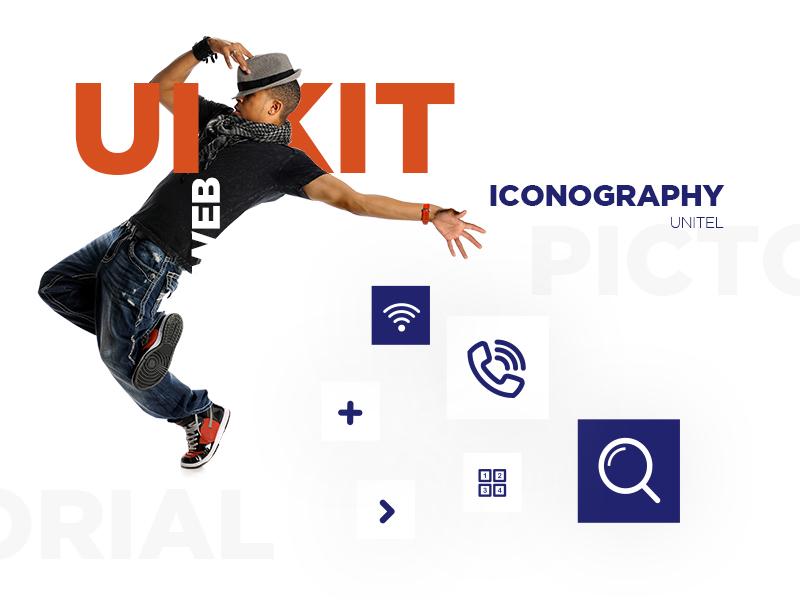 UNITEL - website styleguide layouts website interfaces ux ui art direction webdesign styleguide ui kit